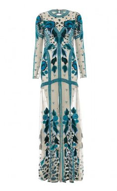 Long Flutura Dress