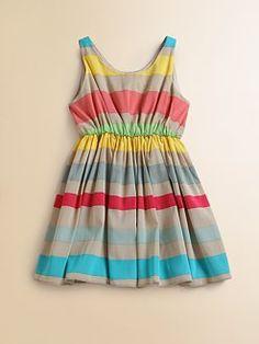 Alice + Olivia Toddler Blouson Tank Dress x