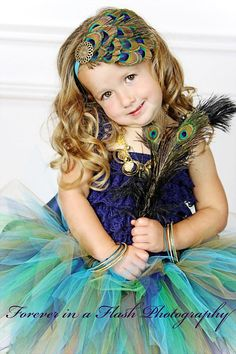 Peacock Eye Feather Headpiece...Headband...Newborn, Infant, Toddler, Girls, & Adult Sizes on Etsy, $17.00