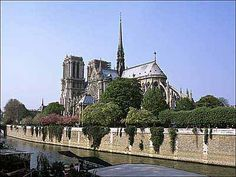 Notre Dame...one day I'd love to visit Paris and see this