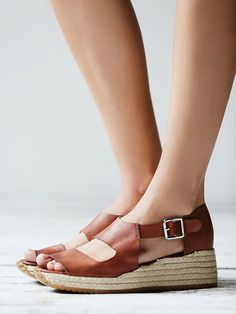 love these spring wedges. Jeffery Campbell Hastings Sport Wedge at Free People Clothing Boutique