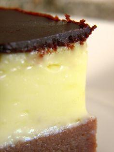 Krupicové kostky s čokoládovou polevou | NejRecept.cz Sweet Recipes, Panna Cotta, Cheesecake, Pudding, Ethnic Recipes, Food, Dulce De Leche, Cheesecakes, Custard Pudding