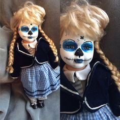 15 in Day of the Dead Doll by grandmaswitchesbroom on Etsy