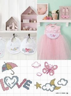 Cross Stitch Baby, Cross Stitch Patterns, Kids And Parenting, Baby Gifts, My Love, Crafts, Mamma, Camilla, Ideas