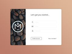 Daily UI - Log in by Mike Hill