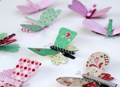 Is anyone else scrambling to make Valentines to hand out at school? A couple of weeks ago I found this adorable paper at the craft store...