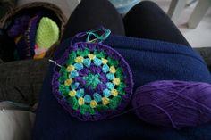Dromenvanger gehaakt #crochet #haken #hakenmetkleur #dromenvanger #watdoetvanessanu
