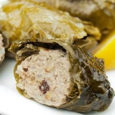 Easy Paleo Diet Recipes: Stuffed Grape Leaves (Dolmas) - Healthy Diets: 10 Easy Paleo Diet Recipes - Shape Magazine
