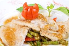 Fra Diavolo Fish & Sautéed Asparagus Recipe – Quick and Easy Freezer Meal Planning Simple Gourmet -