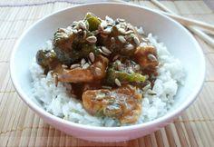 Brokkolis csirke kókuszos rizzsel Tahini, Meat, Food, Essen, Meals, Yemek, Eten