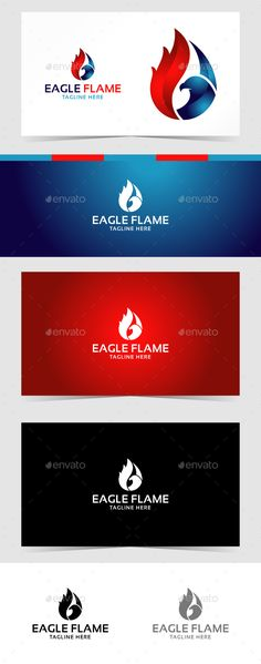 Eagle Flame Logo - Animals Logo Templates Download here : https://graphicriver.net/item/eagle-flame-logo/19235774?s_rank=78&ref=Al-fatih