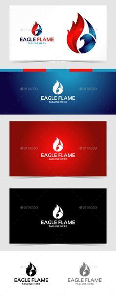 Eagle Flame Logo - Animals Logo Templates Download here : https://graphicriver.net/item/eagle-flame-logo/19235774?s_rank=78&ref=Al-fatih