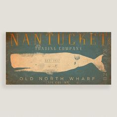 $24 worl mark One of my favorite discoveries at WorldMarket.com: Nantucket Trading Company Wall Art