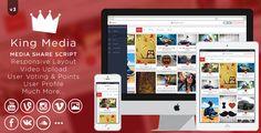 King MEDIA v3.0 - Video, Image Upload and Share - https://codeholder.net/item/php-scripts/king-media-video-image-upload-share