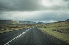 The long and winding road [Austurland, Iceland] N1 somewhere on the way from Reykjahlíð to Egilsstaðir.
