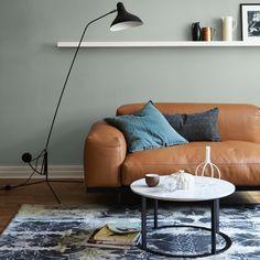 LADY 7163 Minty Breeze er en flott match til Selv om Minty Breeze er… Wall Colors, House Colors, Home Paint Colour, Nordic Living Room, Hanging Canvas, Modern Kitchen Design, New Room, Colour Schemes, Room Decor Bedroom