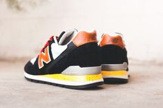 #NewBalance 996 – Black – Brown – Yellow Speckle #sneakers