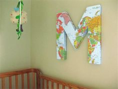 7 Ways to decorate with maps