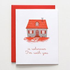 Letterpress Valentine Card // Home by luludee on Etsy, $5.00