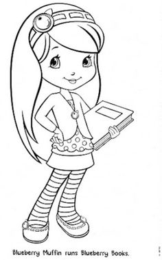 lindas manualidades: Rosa Fresita y sus amigas con moldes Cute Coloring Pages, Coloring For Kids, Adult Coloring Pages, Coloring Books, Coloring Sheets, Art Drawings For Kids, Disney Drawings, Drawing For Kids, Strawberry Shortcake Coloring Pages
