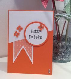ScanNCut & Stampin Up Card