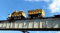Ekstremalny przejazd przez most