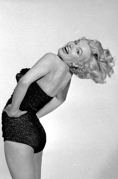 Marilyn Monroe photographed by Frank Powolny, 1951