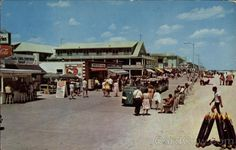 Vintage: One of the feature attractions is the train which runs the length of the boardwalk. Enjoyed by young and old