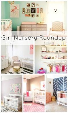 Girl Nursery Roundup