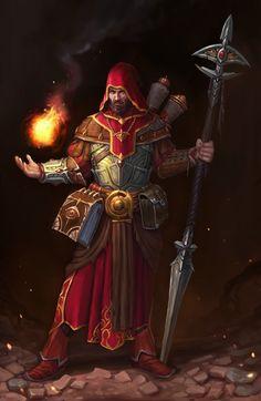 http://darkglint606.deviantart.com/art/Battle-mage-187436672