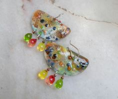 Hey, I found this really awesome Etsy listing at https://www.etsy.com/listing/216816816/enameled-earrings-handmade-jewelry-mixed