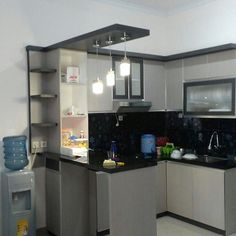Dapur Minimalis Kitchen Dream Pinterest Bancada Cozinha