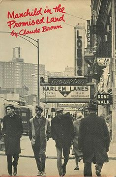 Claude Brown's, Manchild in the Promised Land.  The original cover from 1965 depicts my neighborhood :-)