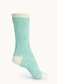 Geo Pattern Socks | FOREVER21