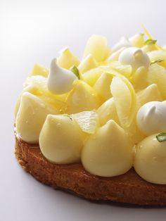 Sitruunatorttu // Tarte au citron parisianavores.com