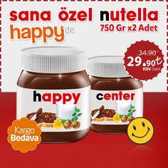 İsminize özel nutella yeniden satışta! <3 Hemen sipariş vermek için tıklayın: http://www.happy.com.tr/nutella