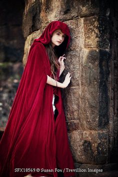 Little Red Riding Hood was a spy for King Philip. She has strait reddish brown hair and light brown eyes.