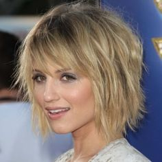 Straight Shaggy Hairstyles