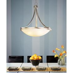 "Possini Euro Design Deco Nickel 24 3/4"" Wide Pendant Light"