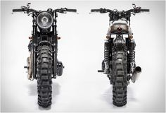 """Italian builders Moto Di Ferro, have a small but impressive portfolio to their name, our latest custom bike crush is their Kawasaki conversion named The Scrambler"""". It has been stripped to its essentials and fitted with a small tank, off-road t Triumph Scrambler, Scrambler Motorcycle, Vintage Motorcycles, Cars And Motorcycles, Kawasaki Cafe Racer, Biker Love, Off Road Tires, Brat Cafe, Cafe Style"""