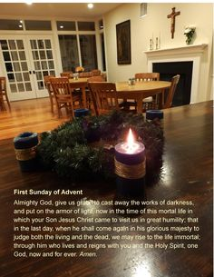 For the first Sunday of advent. #ssmduxbury #advent