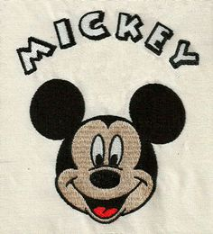 MICKEY MOUSE 046  Machine Embroidery Design by elizabethk314, $4.25