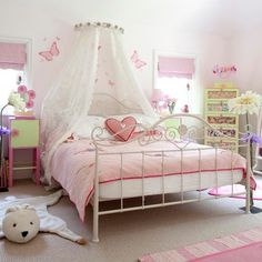 girls purple green bedroom | Pink girls bedroom | Extended country lodge | House tour | PHOTO ...
