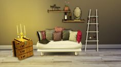 Sims 4 CC's - The Best: Livingroom Furniture by Leo Sims