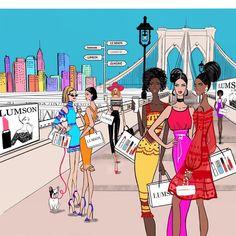 """좋아요 471개, 댓글 8개 - Instagram의 Carolina Carrelli(@caroly_illustrations)님: """"Diversity is Beautiful 🌸 #everywomanisawonderwoman 💪🏻 . . . #internationaldayofwomen #8marzo…"""""""