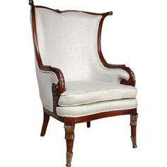 SO - Mahogany Fireside Chair
