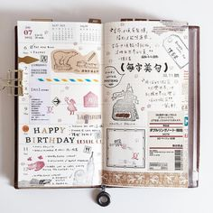 PLANNER - WEEK 28 in my midori travelers notebook