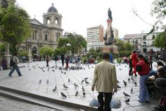 La Plaza Murillo