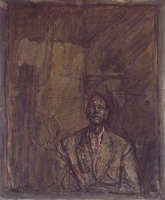 Alberto Giacometti. Jean Genet (1954)
