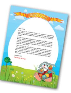 Create a free letter from the Easter Bunny!!-->> http://www.debtfreespending.com/?p=71132